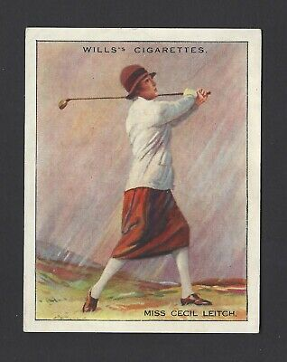 Wills - Famous Golfers - #13 Miss Cecil Leitch
