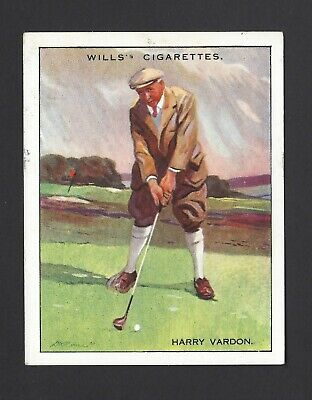 Wills - Famous Golfers - #22 Harry Vardon