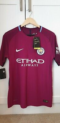 Manchester City Away Kit 2017/18 (BNWT, Authentic, Large)