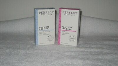 Perfect  Formula Ruby Pink Gel Coat  & Manicure Booster 18ml Boxed.