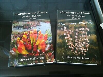 Carnivorous plants and their habitats volumes 1 & 2  /  Signed By The Author!