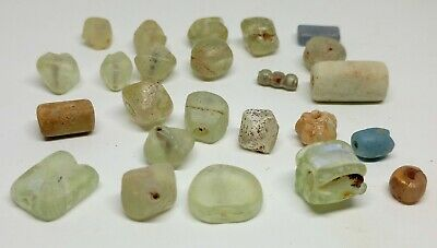 Beads  Glass set 25pc. / 200-300AD. Celtic / Bosporus / Scythian