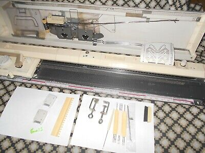 Brother Kh836 Punch Card Knitting Machine - With Instructions.