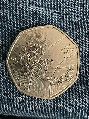 London 2012 Olympic BASKETBALL 50p Coin Fifty pence Circulated