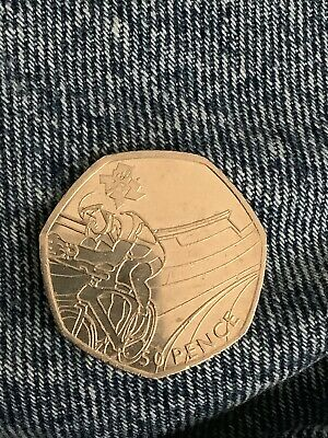London 2012 Olympic CYCLING 50p Coin Fifty pence Circulated