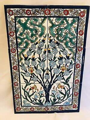 Tunisian Charming Tiles / Hand Painted Tiles