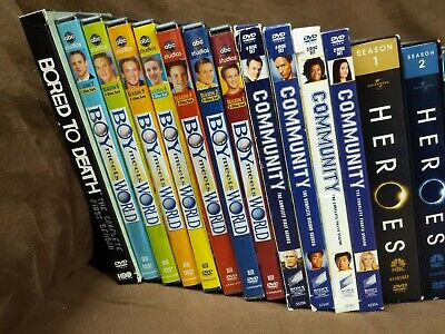 Television DVD/Blu-ray seasons LOOK INSIDE FOR LIST