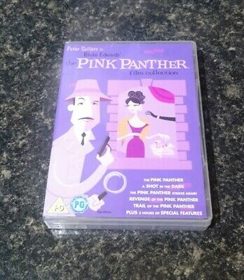 The Pink Panther Film Collection DVD Box Set 6 Disc Set