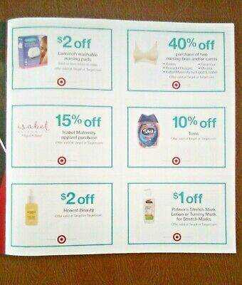 New Target Coupo with Code $5 and 40% Off Nursing & Babies .All Expires 4/30/20