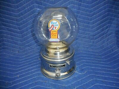 Penny Operated FORD Gumball Machine with a glass globe