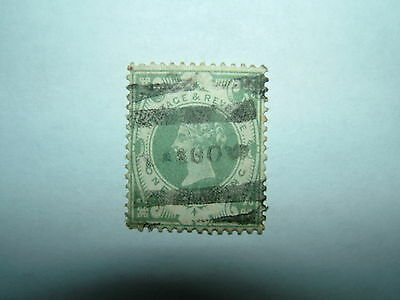 1887-1900 JUBILEE ISSUE 1s DULL GREEN (sg211) USED CV £75