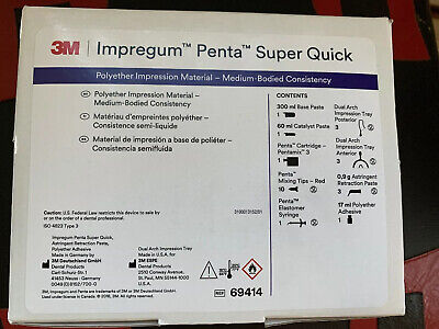 Impregum™ Penta™ Quick Step Medium Body Dental Impression Material Cartridge