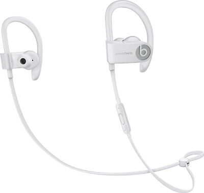 Authentic OEM Beats by Dr Dre Powerbeats3 Wireless Headphones White