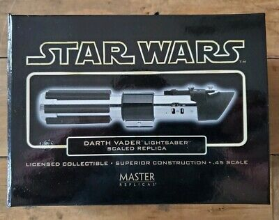 Master Replicas Darth Vader .45 Scale Lightsaber Prop Replica Star Wars Ep. IV