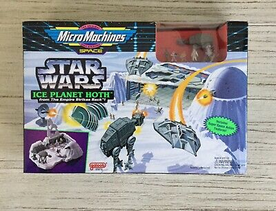 Star Wars Micro Machines Empire Strikes Back Ice Planet Hoth Playset Galoob