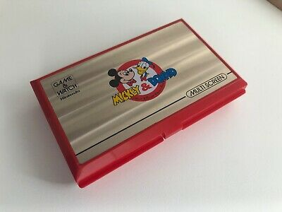 Console Nintendo Game & Watch Multi Screen Mickey Donald Fonctionne + Cache Pile