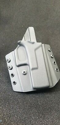 Kydex Holster, Glock 19 /19x /23/25/45 OWB  All Black USA MADE Veteran company