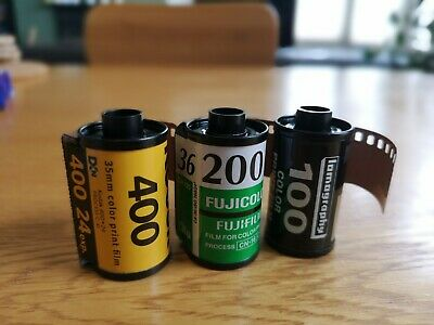 3x Expired 35mm films