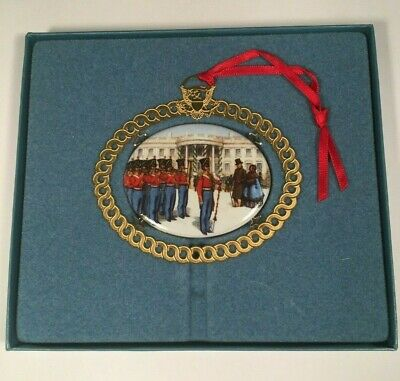 The White House Historical Association 1994 Christmas Tree Ornament With Box
