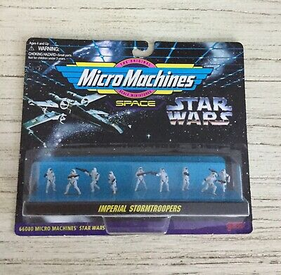 Star Wars Micro Machines Imperial Stormtroopers Galoob Mini Figure Toy Set