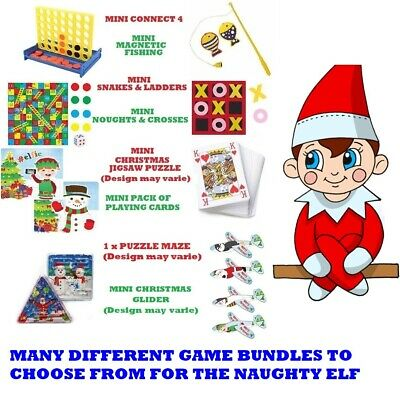 The ELF Behavin Badly Accessories Games  Props Ready On The Shelf Christmas Elve