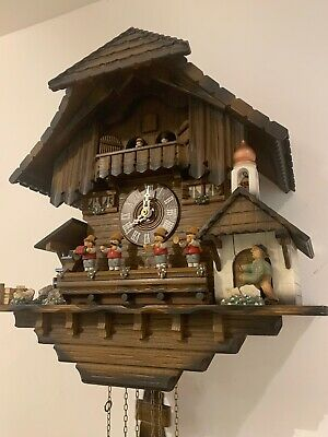 Cuckoo Clock 8 DAY 2 Melodies, Large And Heavy Clock