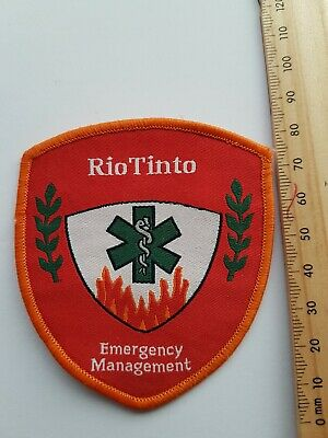 Rio Tinto Emergency Management Patch