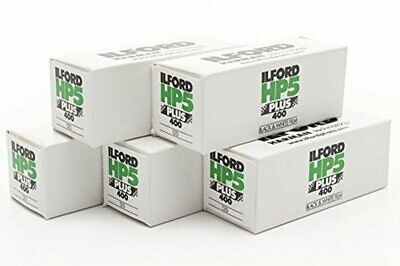 Ilford HP5 400 120 Film - 5 Roll Pack