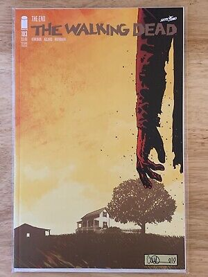The Walking Dead 2003 #193 VF//NM 2nd Printing Final Issue Kirkman Image AMC