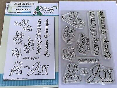 Annabelle Stamps - Holly Branch