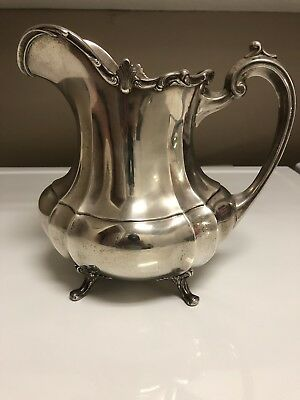 Reed & Barton Hampton Court Sterling Water Pitcher Never Monogrammed