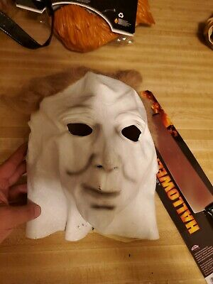 Michael myers mask with Knife FAST SHIPPING NEW Costume Halloween