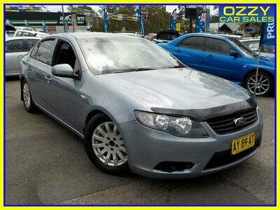 2008 Ford Falcon BF MkII 07 Upgrade XT Silver Automatic 6sp A Sedan