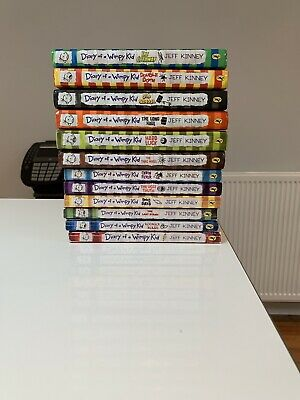 Diary of a Wimpy Kid Collection - 12 Books, Paperback And Hardcover