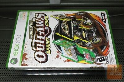 World of Outlaws: Sprint Cars (Xbox 360 2010) FACTORY SEALED! - RARE! - EX!