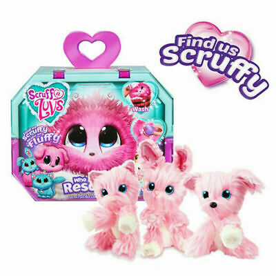 Hot Little Live Scruff-A-Luvs Rescue Plush Doll Toys Pets Kids Birthday Gifts