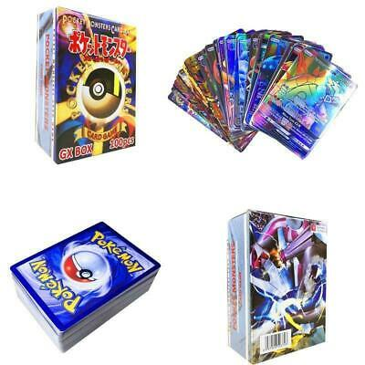 Hot Sale 100pcs 95 GX + 5 MEGA Cards Pokemon Card Holo Flash Trading GX Cards US
