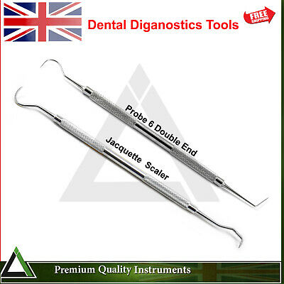 Dental Teeth Plaque Calculus Removing Tools Hygiene Hook Shape Diagnostic Tools