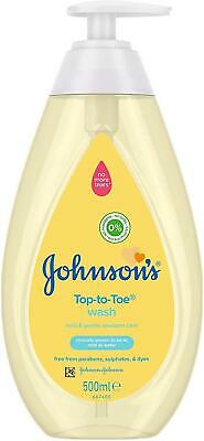 Johnsons Baby Top-to-Toe Wash 500ml