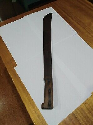 Vintage Machete with Timber Handle made in England