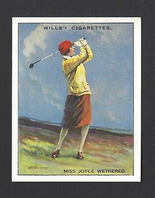 Wills - Famous Golfers - #23 Miss Joyce Wethered