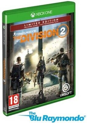 Tom Clancy's The Division 2  Limited Edition Xbox One 2019 NEW SEALED
