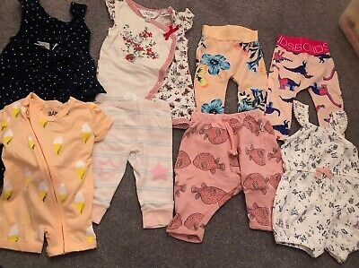 Baby Bundle Girl Bebe Bonds Cotton On Baby Papoose 0-3 Months
