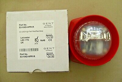 £36 Gent S3-VAD-HPR-R Addressable VAD Beacon Red Body