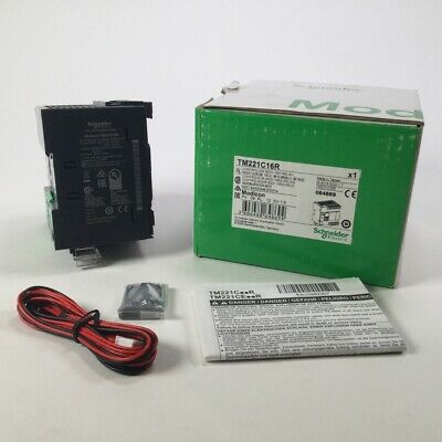 Schneider Electric TM221C16R Controller M221 16 IO relay Modicon New NFP