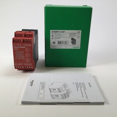 Schneider Electric XPSMP11123P Safety Relay Controller Preventa 24V DC New NFP