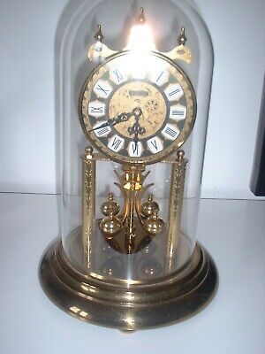 Lovely S Haller 400 Day Anniversary Clock And Dome 12 X 8 Inches