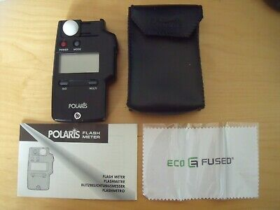 Polaris Flash Meter Plus Instruction Booklet and Case