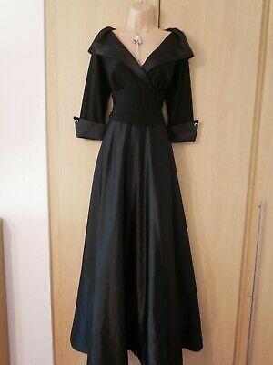 Eliza J Black full length evening dress size 14