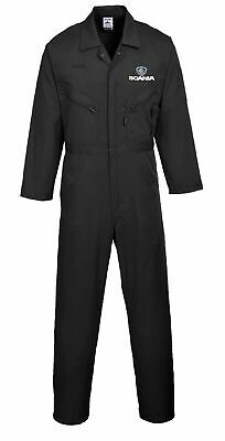 Scania Quality personalised embroidered Boilersuit/Overall Portwest Multi zip
